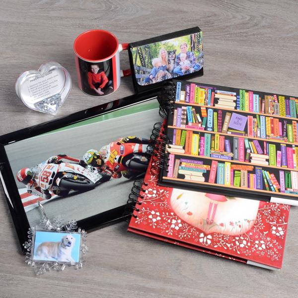 Cadres, mugs, albums photo personnalisables