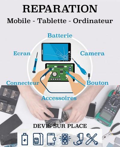 Réparation mobiles et smartphones toutes marques